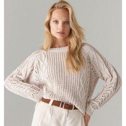74cdf79c Białe swetry damskie ze sklepu Mohito, bez rękawów - Kolekcja lato ...