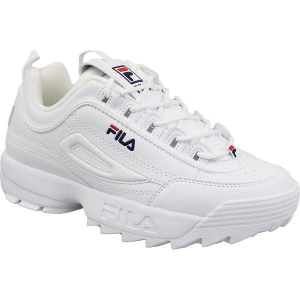 Fila Disruptor Low Wmn 1010302 1FG buty sneakers, buty sportowe damskie białe 40