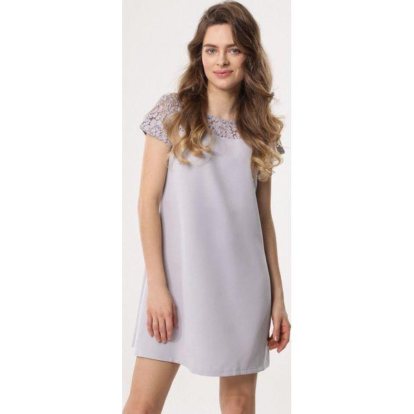 2672b55748 Szara Sukienka Personage - Szare sukienki damskie marki Born2be