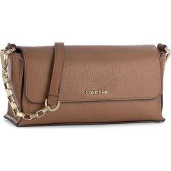 112639b0f9e98 Brązowe torebki damskie marki Calvin Klein Black Label - Kolekcja wiosna  2019
