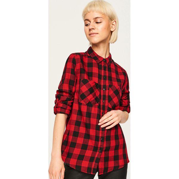 d715a37fda021d Koszula w kratę - Czerwony - Czerwone koszule damskie Reserved. Za ...