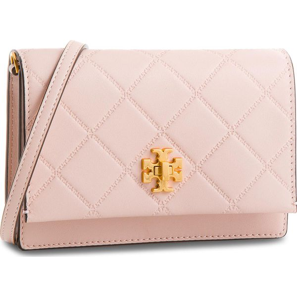 808f814bb1b85 Torebka TORY BURCH - Georgia Turn-Lock Mini Bag 41482 Shell Pink 652 ...