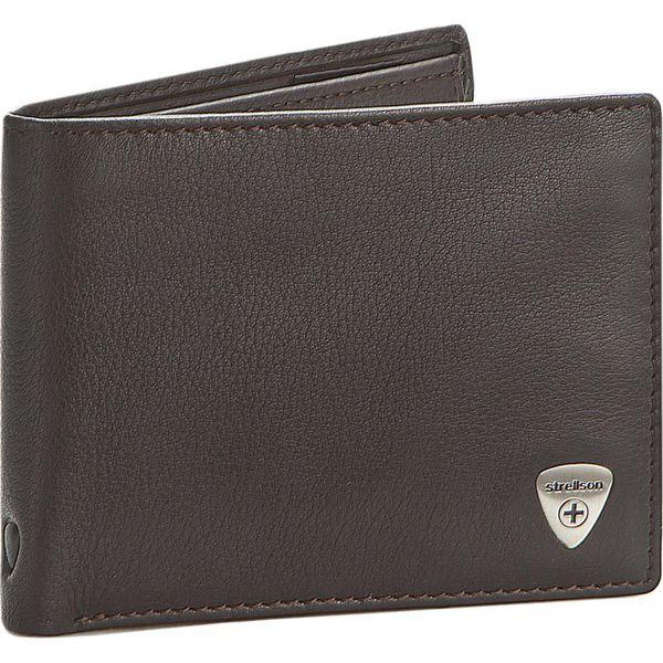 6228d566874f4 Duży Portfel Męski STRELLSON - Harrison 4010001045 Dark Brown 702 - Brązowe portfele  męskie marki Strellson. W wyprzedaży za 159.00 zł.
