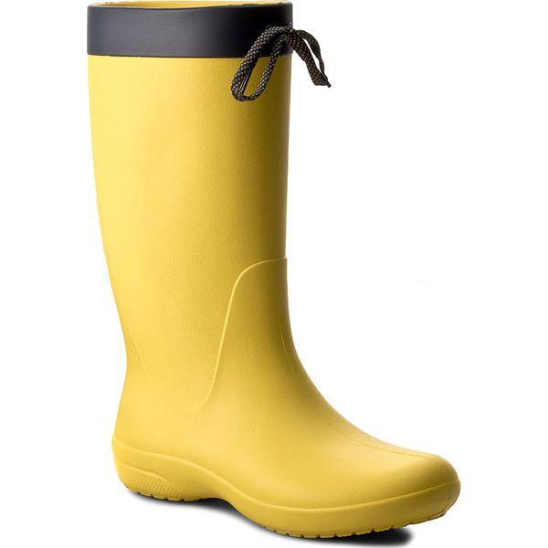 f450636777336 Kalosze CROCS - Freesail Rain Boot 203541 Lemon - Kalosze damskie ...