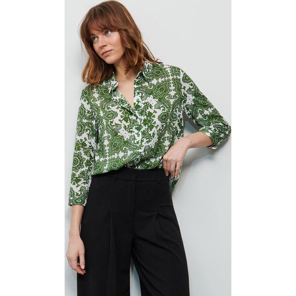 Zielone koszule damskie ze sklepu Reserved Kolekcja wiosna  3waKs