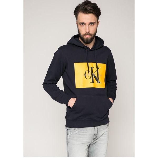 103ca23c7495b Calvin Klein Jeans - Bluza - Bluzy męskie marki Calvin Klein Jeans. W  wyprzedaży za 349.90 zł. - Bluzy męskie - Odzież męska - Odzież - Sklep  Radio ZET