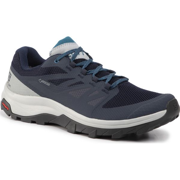 The Salomon Outline hiking shoes are made with the kind of