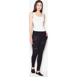 Spodnie dresowe damskie: Venaton Spodnie VT044 Czarny L – VT044CZL