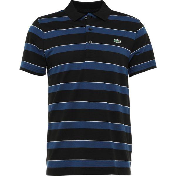 c88606ac2 Lacoste Sport STRIPE Koszulka polo black/inkwell/white - Koszulki ...