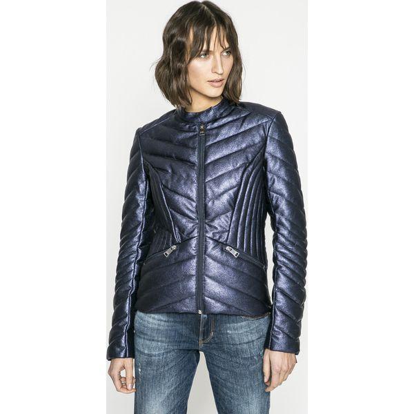 6f3643174558f Guess Jeans - Kurtka Felicia - Szare kurtki damskie marki Guess ...