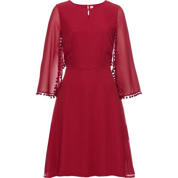 bb841acaeb Sukienka bonprix ciemnoczerwony - Czerwone sukienki damskie marki ...