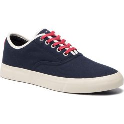 eda2ef60e0ad7 Tenisówki TOMMY HILFIGER - Core Retro Oxford Sneaker FM0FM02216 Midnight  403. Trampki męskie marki Tommy
