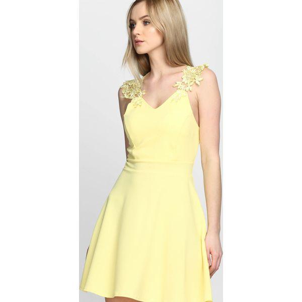 745fcf786e Żółta Sukienka Tiana - Żółte sukienki damskie marki Born2be ...