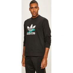 Wyprzedaż czarna odzież męska adidas Originals, bez