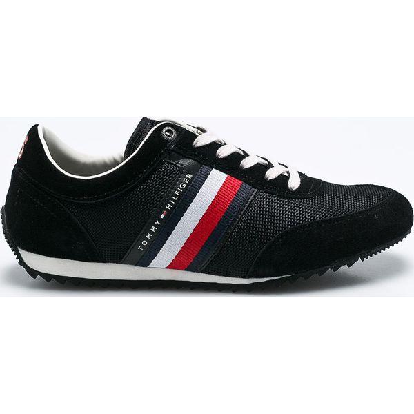 8811eb1ae4112 Tommy Hilfiger - Buty - Czarne buty sportowe męskie marki Tommy ...