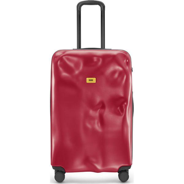 efa1934639190 Walizka Icon duża matowa czerwona - Czerwone walizki damskie marki Crash  Baggage, duże. Za 1,120.00 zł. - Walizki damskie - Akcesoria damskie -  Akcesoria ...