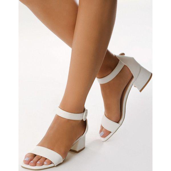 7473a1eaa3058 Białe Sandały Hot Tempered - Białe sandały damskie marki Born2be ...