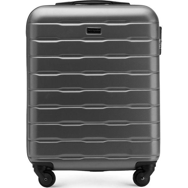 7d8beed96235a Walizka kabinowa 56-3A-381-70 - Białe walizki damskie marki Wittchen ...