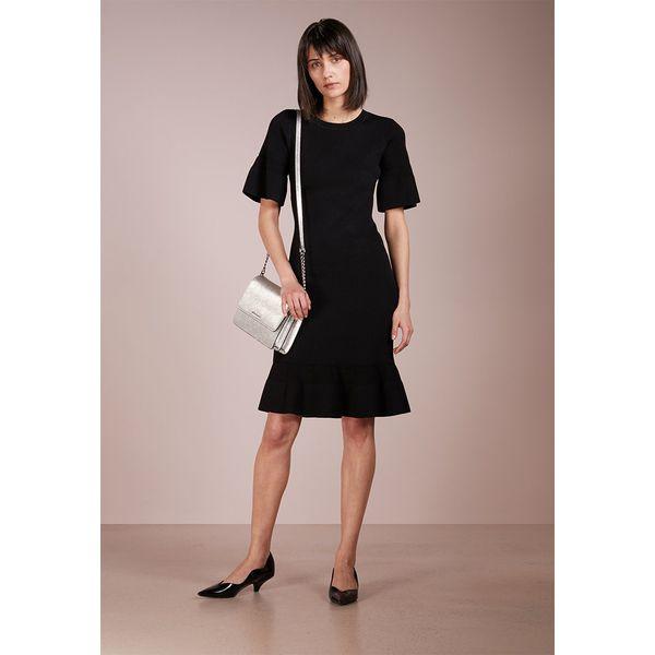0fdcc5e4b36d8 MICHAEL Michael Kors BODYCON TEXTRED Sukienka dzianinowa black ...