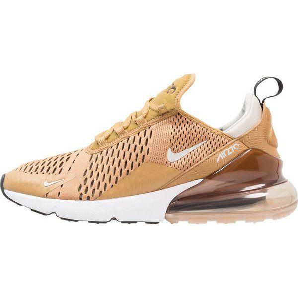 Nike Sportswear AIR MAX 270 Tenisówki i Trampki elemental goldblacklight bone