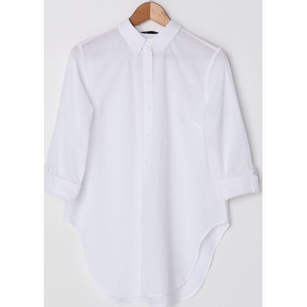 Bawełniana koszula Biały Białe koszule damskie House, l  vJ3cq