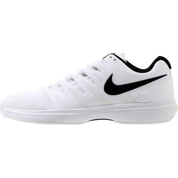 Nike Performance AIR ZOOM PRESTIGE HC Obuwie multicourt whiteblack