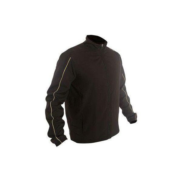 13ea67a8de28 Kurtka Dry 100 czarna - Czarne kurtki męskie marki ARTENGO