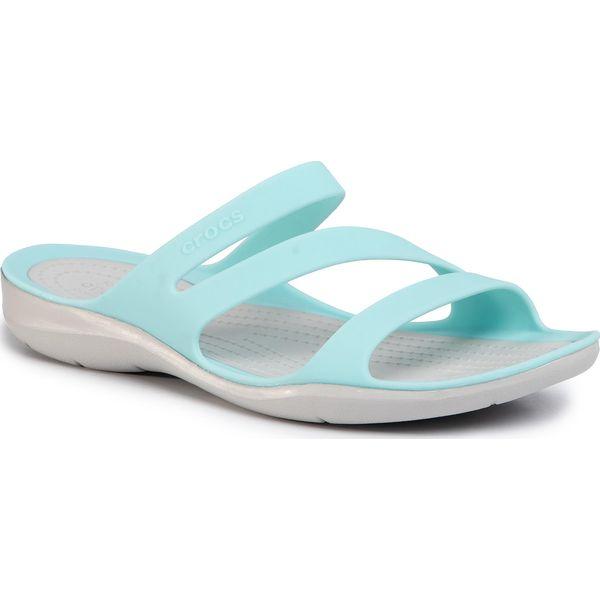 Klapki CROCS Swiftwater Sandal W 203998 BlePearl White