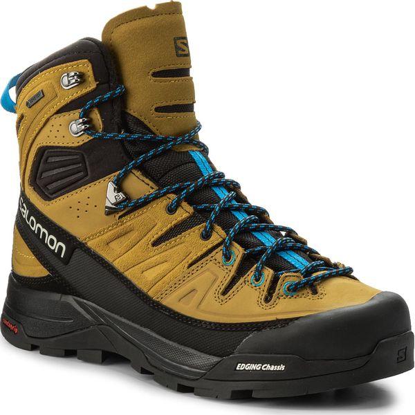 Trekkingi SALOMON X Alp High Ltr Gtx GORE TEX 400137 29 BlackHoneyIndigo Buntig