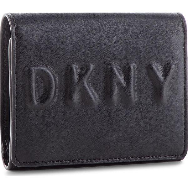 2444bb77c6e90 Mały Portfel Damski DKNY - Tilly Trifold Wallet R741V100 Blk Gold BGD - Portfele  damskie marki DKNY. W wyprzedaży za 259.00 zł.