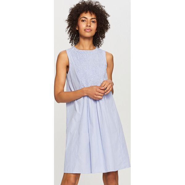 dcfd74d639 Sukienka w paski - Granatowy - Niebieskie sukienki damskie marki ...