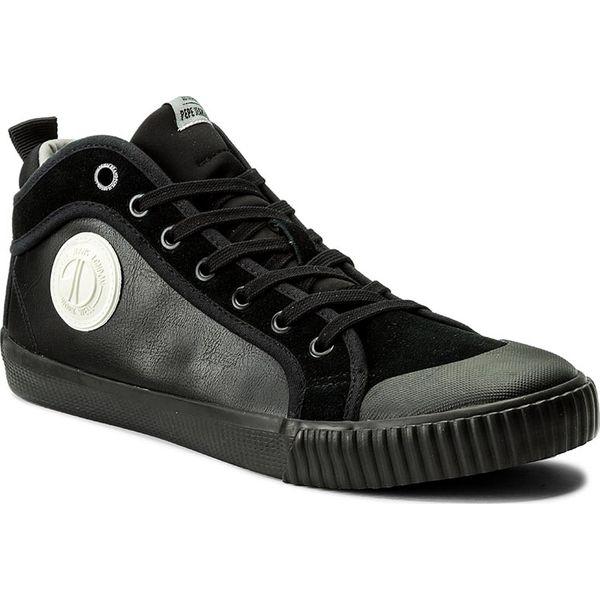 36fafbe14 Trampki PEPE JEANS - Industry Sock PMS30373 Black 999 - Czarne ...