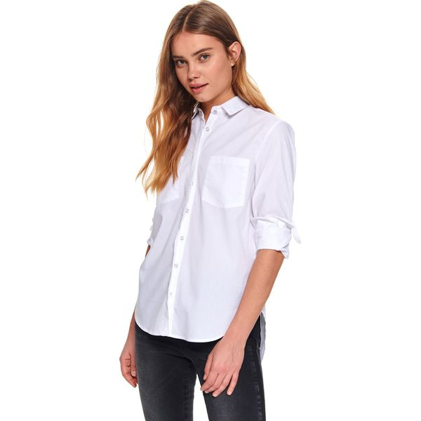 Wyprzedaż białe koszule damskie ze sklepu Top Secret  3TaYQ