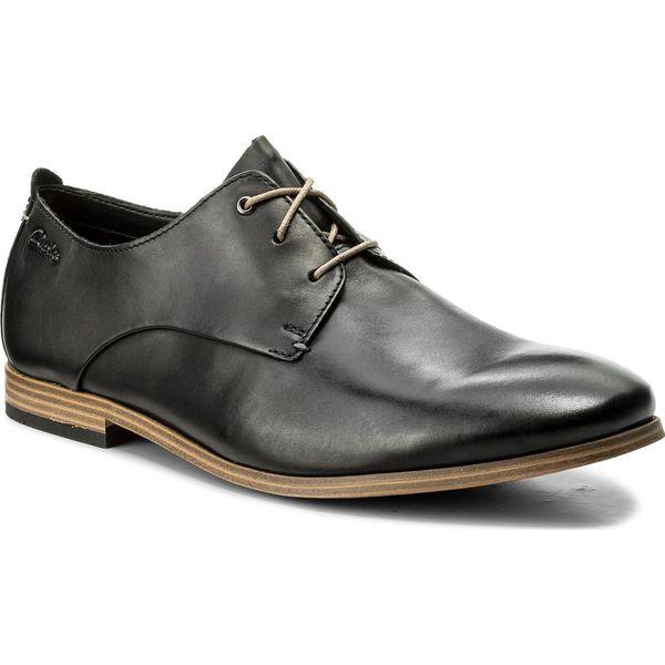 ac6deb188c23 Półbuty CLARKS - Chinley Walk 261153717 Black Leather - Buty wizytowe męskie  marki Clarks. W wyprzedaży za 249.00 zł. - Buty wizytowe męskie - Obuwie  męskie ...