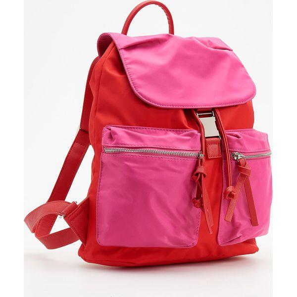 787f3f770afb5 Czerwono-różowy plecak - Różowy - Czerwone plecaki damskie marki Reserved.  W wyprzedaży za 59.99 zł. - Plecaki damskie - Torby i plecaki damskie -  Akcesoria ...