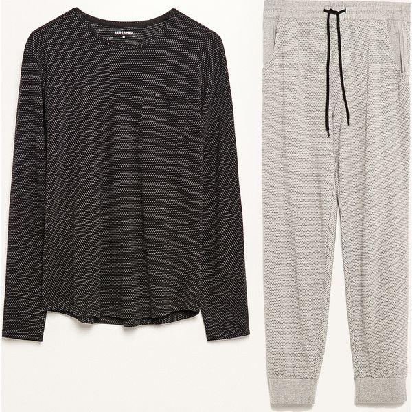 f6cade063b12a4 Piżama dwuczęściowa ze spodniami - Czarny - Piżamy męskie marki ...