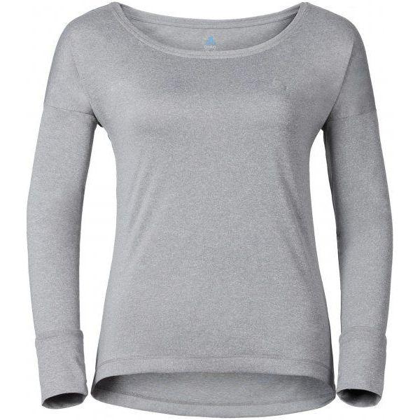 36e69e233 Odlo Koszulka Z Długim Rękawem Tebe Grey Melange M - Sklep Radio ZET