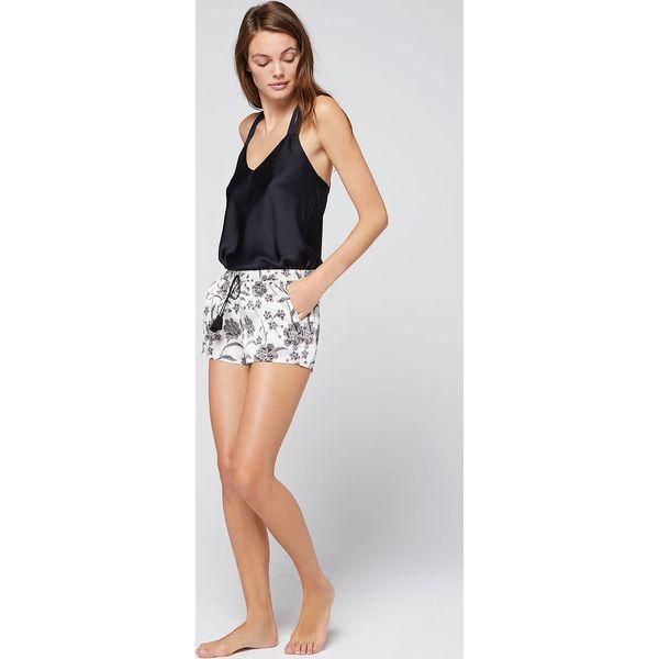 d5dd45098c2839 Etam - Koszulka nocna Reese - Czarne koszule nocne damskie Etam, bez ...