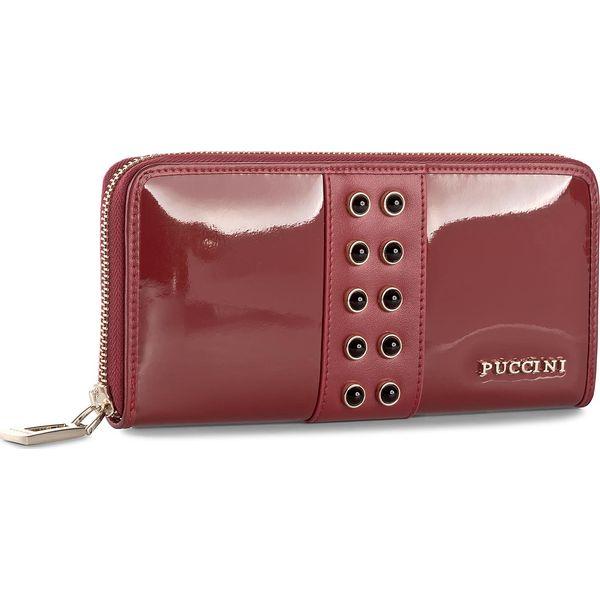 6500e97b250fd Duży Portfel Damski PUCCINI - BS2705 Red 3 - Czerwone portfele ...