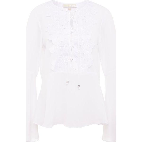 42a83f33c50a7 MICHAEL Michael Kors Bluzka white - Białe bluzki damskie marki ...
