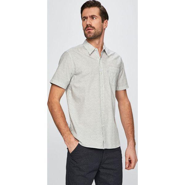 90de5bf56 Levi's - Koszula - Białe koszule męskie marki Levi's®, l, z bawełny,  casualowe, z klasycznym kołnierzykiem, z krótkim rękawem. Za 189.90 zł.