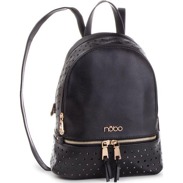 bf92f1bd4b31c Plecak NOBO - NBAG-F2450-C020 Czarny - Czarne plecaki damskie marki NOBO,  ze skóry ekologicznej. W wyprzedaży za 199.00 zł. - Plecaki damskie - Torby  i ...