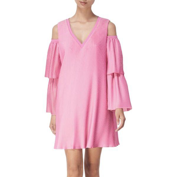135d297ba3 Sukienka w kolorze fuksji - Czerwone sukienki damskie marki BOHOBOCO ...