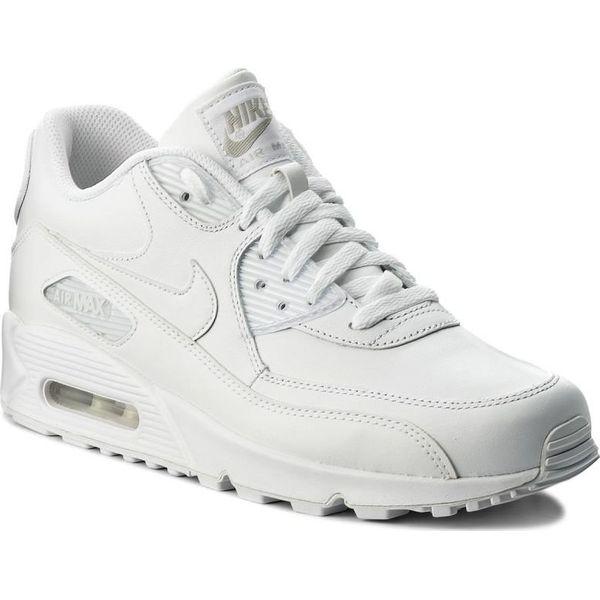 1641a8b4c Nike Buty męskie Air Max 90 Leather białe r. 44 (302519-113) - Buty ...