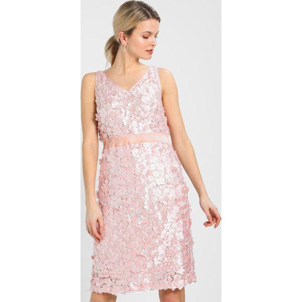 66b24d99a9 Cream SAMANTHA DRESS Sukienka letnia powder rose - Czerwone sukienki ...