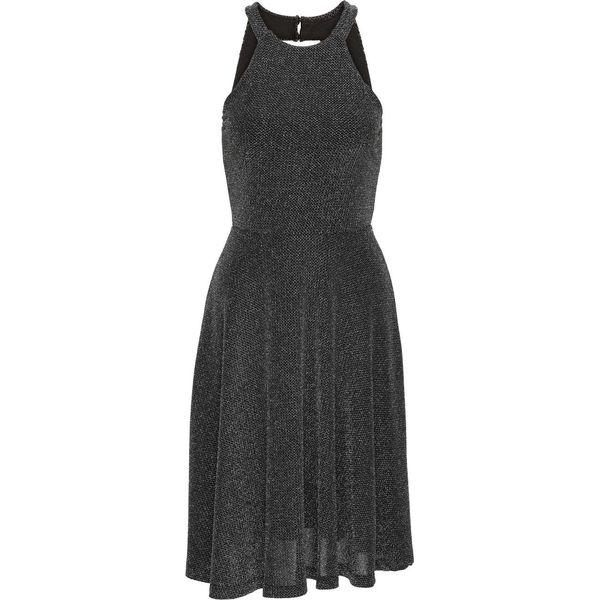 ca4c1db42d Sukienka brokatowa bonprix czarny - Sukienki damskie marki bonprix ...
