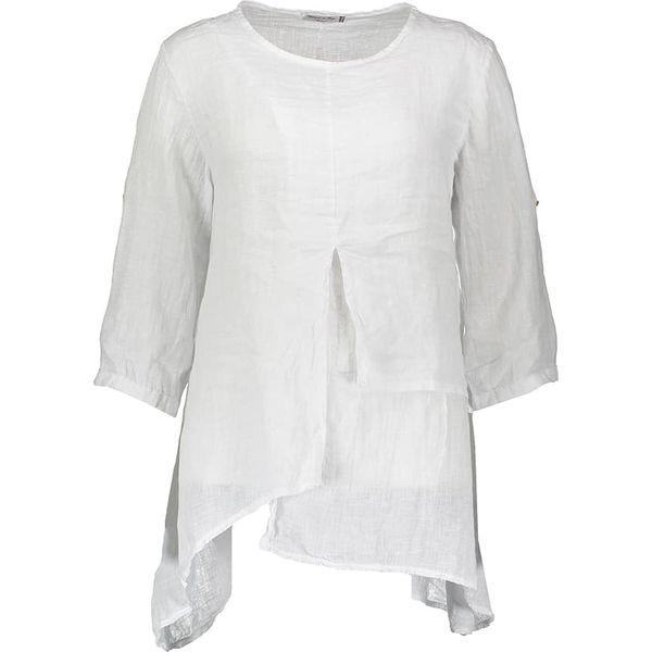 bc41b61308 Lniana tunika w kolorze białym - Białe tuniki damskie marki William ...