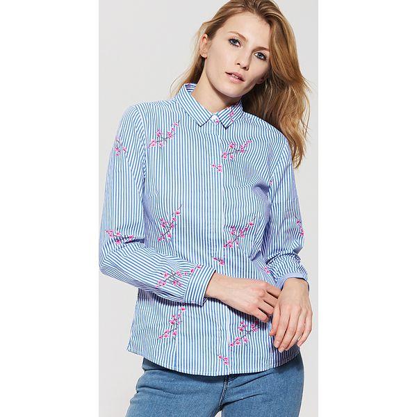 Koszula Szare Koszule Marki Damskie Wielobarwn Gładka HouseL 92EDWHI