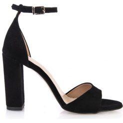 018748c4b2566d Czarne sandały damskie ze sklepu Arturo Vicci, bez zapięcia ...