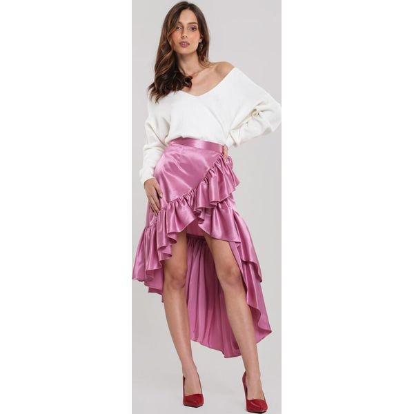 Różowa Spódnica Lilou Limited Edition